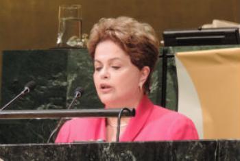 Dilma Rousseff. Foto: Rádio ONU