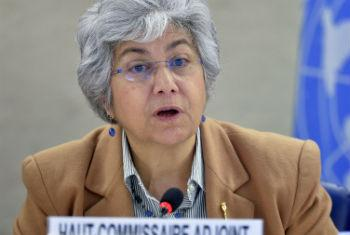 Flavia Pansieri. Foto: ONU/Jean-Marc Ferré