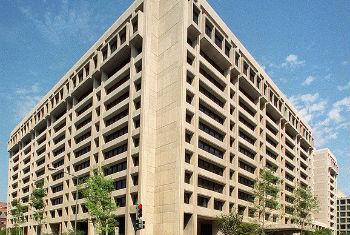 Sede do FMI, em Washington. Foto: FMI