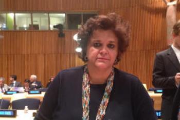 Izabella Teixeira na ONU. Foto: Rádio ONU