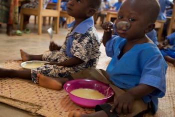 Ajuda alimentar para a Somália. Foto: PMA