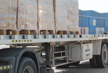 Camião do PMA. Foto: PMA