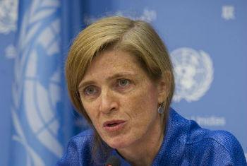 Samantha Power. Foto: ONU/Eskinder Debebe