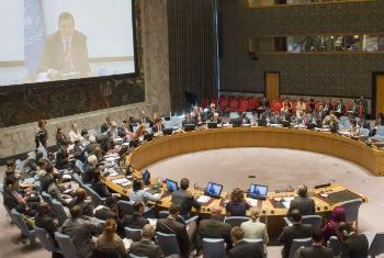 Jan Kubis falou ao Conselho de Segurança. Foto: ONU/Amanda Voisard