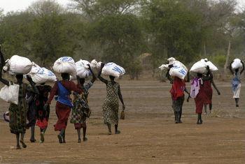 Insegurança alimentar no Sudão do Sul. Foto: PMA/Debbi Morello