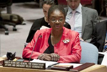 Valerie Amos. Foto: ONU/Kim Haughton