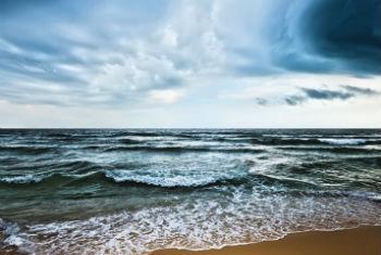 Alta temperatura dos oceanos. Foto: OMM/Olga Khoroshunova