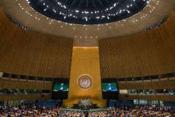 Assembleia Geral. Foto: ONU/Amanda Voisard