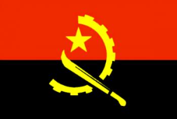 Bandeira de Angola.