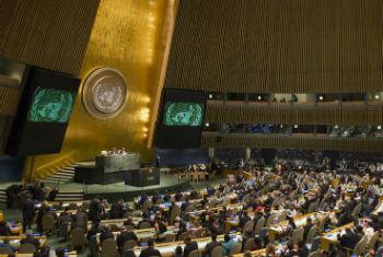 Assembleia Geral da ONU. Foto: ONU/Mark Garten