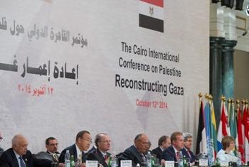 Conferência de Doadores no Cairo. Foto ONU