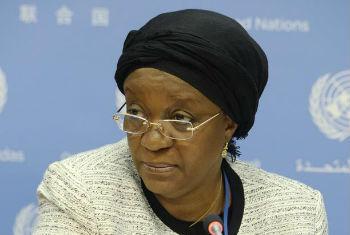 Zeinab Bangura. Foto: ONU/Eskinder Debebe