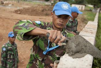 Soldados de paz da ONU em Bangui. Foto: ONU/Catianne Tijerina