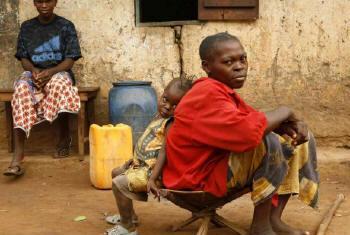 Deslocados na República Centro-Africana. Foto: Acnur