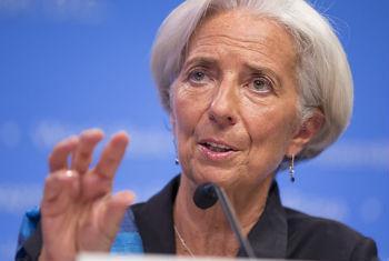 Christine Lagarde. Foto: FMI/Stephen Jaffe