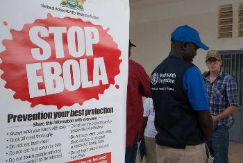 Combate ao ébola. Foto: OMS/C. Black