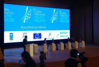 Azerbaijão recebe fórum global sobre juventude. Foto: Rádio ONU/ Liudmila Blagonravova