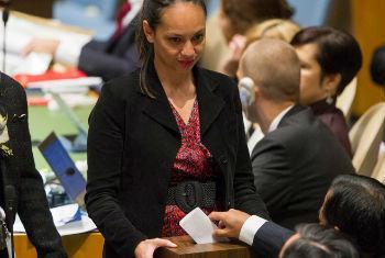 Votos foram recolhidos na Assembleia Geral. Foto: ONU/Mark Garten