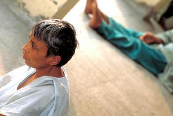 Tratamento para pacientes com problemas mentais. Foto: OMS