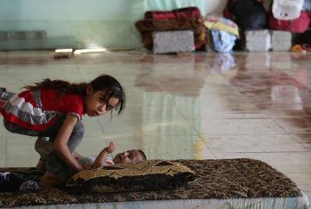 Mais de 61 mil deslocados desdo o fim de setembro. Foto: OIM