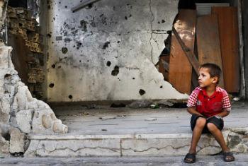 Criança síria. Foto: PMA/Abeer Etefa