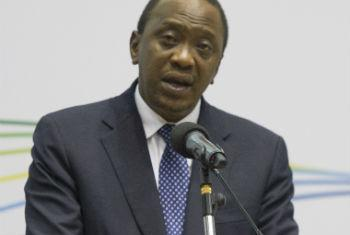 Uhuru Kenyatta. Foto: ONU/Eskinder Debebe
