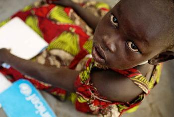 Escolas reabrem no próximo mês. Foto: Unicef
