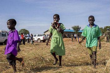 Crianças no Sudão do Sul. Foto: Unmiss