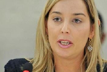 Gabriela Knaul. Foto: ONU