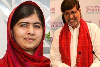 Malala Yousafzai e Kailash Satyarthi. Foto: ONU