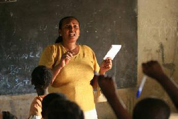 Necessário mais de 1,4 milhão docentes. Foto: Unesco/Antonio Fiorente