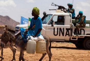 Missão em Darfur. Foto: Unamid/Albert González Farran