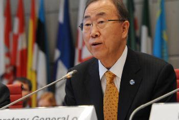 Ban Ki-moon. Foto: OSCE