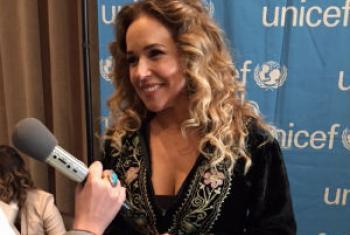 Daniela Mercury em entrevista à Rádio ONU.