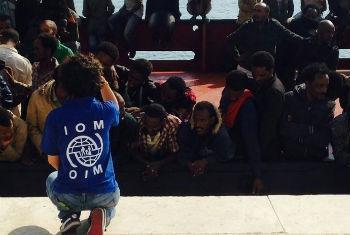 Nos últimos 10 dias mais de 5 mil migrantes chegaram à Itália. Foto: OIM