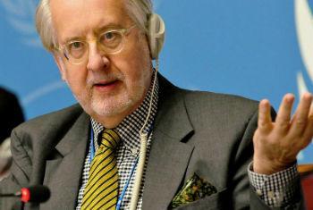 Paulo Sérgio Pinheiro. Foto: ONU/Pontus Wallstenn