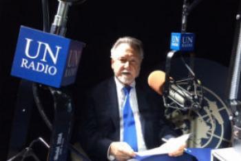 João Candido Portinari. Foto: Rádio ONU