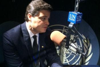 Sandro Alex. Foto: Rádio ONU