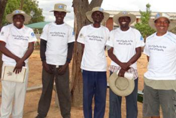 Conselheiros do projeto Padare. Foto: Unfpa/Victoria Walshe