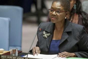 Valerie Amos. Foto: ONU/Loey Felipe