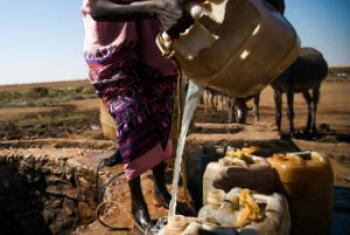 A população não trata a água de forma adequada.Foto: Unamid/Albert Gonzalez Farran
