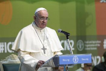 Papa Francisco. Foto: FAO.