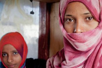 Crianças no Iémen. Foto: Acnur/P. Rubio Larrauri