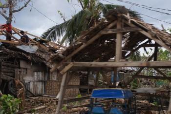 PMA conta com pessoal que operou no Tufão Haiyan.