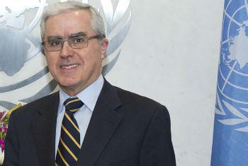 Embaixador Álvaro Mendonça e Moura. Foto: ONU/Eskinder Debebe