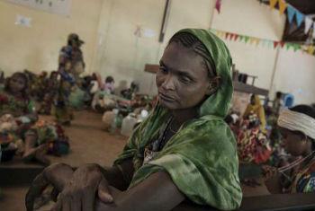 Deslocada na República Centro-Africana. Foto: Acnur/A.Greco