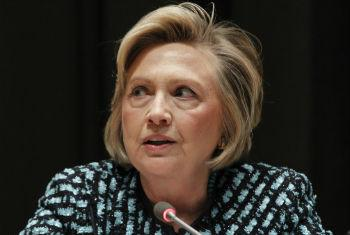 A ex-secretária de Estado americana, Hillary Clinton. Foto: ONU/JC McIlwaine