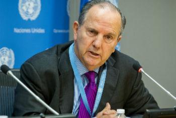Juan Méndez. Foto: ONU/Loey Felipe