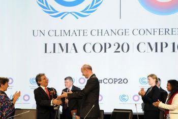 Conferência sobre Mudanças Climáticas em Lima. Foto: Unfccc