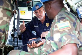 Luís Carrilho em Bangui, República Centro-Africana. Foto: ONU/Nektarios Markogiannis